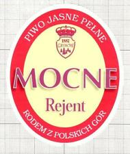 POLAND Browar Grybow MOCNE Rejent beer label C1751 043
