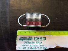 molla a trazione acciaio armonico zincata L53mm - ø 27mm - filo 2mm  98148