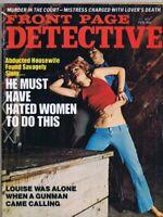 ORIGINAL Vintage February 1975 Front Page Detective Magazine GGA