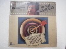 SUNIL GANGULY  GUITAR ELECTRIC  RARE LP RECORD BOLLYWOOD INSTRUMENTAL INDIA VG+