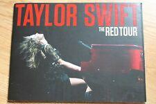 Taylor Swift Red Tour programme +album promo