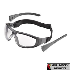 8eab19138a9 ELVEX GO-SPECS II SAFETY GLASSES BLACK FRAME