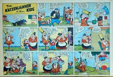 Katzenjammer Kids by Harold Knerr - large half-page Sunday comic - Oct. 27, 1946