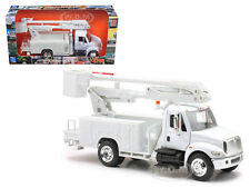 INTERNATIONAL 4200 LINE MAINTENANCE TRUCK WHITE 1/43 BY NEW RAY 15913E