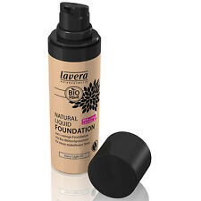 lavera Natural Liquid Foundation - Ivory Light 01 -30ml