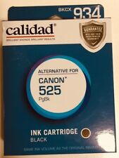 Calidad 934 INK cartridge Alternative for Canon 525 Compatible - Black