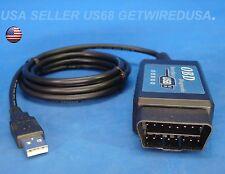 V1.5 ELM327 OBD2 USB DIAGNOSTIC INTERFACE SCANNER .