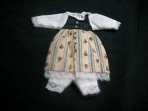 Heidi Ott 1:12 Scale Doll House Miniature Child Girl Outfit Clothes #XZ954