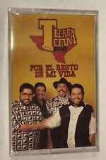Por El Resto De Mi Vida by Tierra Tejana(Audio Cassette Sealed)