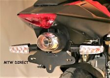 MOTORCYCLE R&G TAIL TIDY FOR Aprilia RS50 2010 - ONWARDS BLACK
