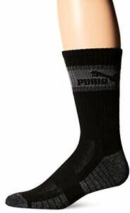Puma 3 Pack Mens Crew Socks- Pick SZ/Color.