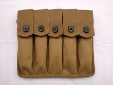 WWII US AMRY THOMPSON MAGAZINE POUCH 5 CELL 30 ROUNDS MILITARY