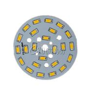 5730 12W Warm White LED Light Emitting Diode SMD Highlight Lamp Panel 65mm Plate