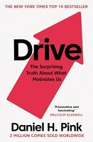 Daniel H. Pink Drive Surprising Truth About What Motivates Us 9781786891709 New