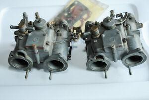 Solex C 40 DDH Carburetors Alfa Romeo Lancia Fiat Ferrari Porsche