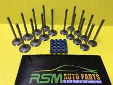 Fits to Kia Rio 06-10 Accent Brio 1.6L Intake & Exhaust Valves + Steam Seals