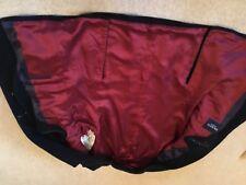 HACKETT NAVY BLUE MOLESKINE MENS Jacket, size 44 with red lining