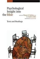 Psychological Insight into the Bible: Texts and Readings - Eerdmans Pub Co