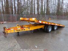 Trail King Tkt18-2000 20' Tilt Deck T/A Equipment Trailer Electric Brake bidadoo