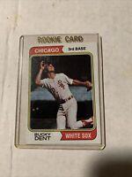 1974 Topps #582 Bucky Dent Chicago White Sox Rookie Baseball Card