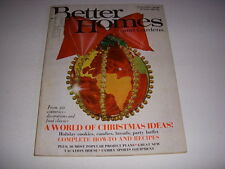 better homes and gardens magazine december 1968 world of christmas ideas. beautiful ideas. Home Design Ideas