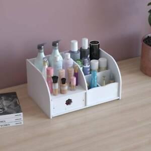 Modern Makeup Storage Box Plastic Cosmetic Organizer Drawer Case Make Up Holder