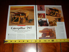 CATERPILLAR 797 CAT - ORIGINAL 2000 ARTICLE