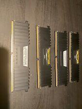 16GB Corsair Vengeance LPX DDR4 2666MHz PC4-21300 CL16 Quad Channel Kit (4x 4GB)