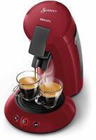 Toppreis! Senseo HD6553/80 Kapsel-Kaffeemaschine Kunststoff rot 1450 Watt Kapsel