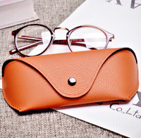 Portable Leather Eyeglasses Sunglasses Case Fits for Ray Ban Oakley Sun glasses