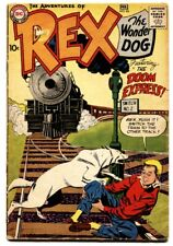 Adventures of Rex the Wonder Dog #43 1959- Train cover-dc