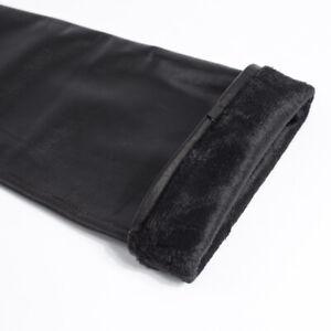 "women new 66cm(26.0"") real sheep leather opera shoulder long black gloves"