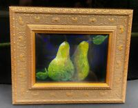 Rare Limited Print Of Still Life Pears by Lucien Daigneault