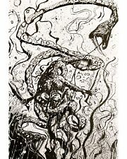 original comic art Fantasy page Neil Gaiman
