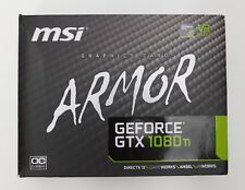 MSI ARMOR NVIDIA GEFORCE GTX 1080Ti GRAPHICS CARD OC EDITION 11GB GDDR5X