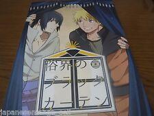 NARUTO doujinshi yaoi NARUTO X SASUKE (A5 28pages) MURIG Zokukaino black Curtain