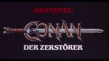 35mm Trailer CONAN DER ZERSTÖRER Arnold Schwarzenegger Deutscher Kinotrailer RAR