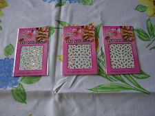 lot trois stickers ongles brillants Marque EASY PARIS COSMETIC Femme neuf