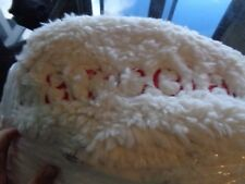 Pottery Barn Kids Anywhere Beanbag slipcover ivory Sherpa mono Marcela New