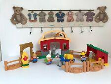 🦋 L'écurie Little People Figurine Fisher Price Les Animaux De La Ferme