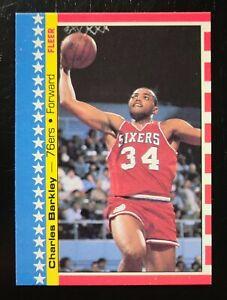 1987-88 Fleer Sticker #6 Charles Barkley
