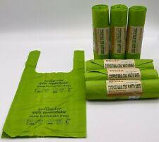Ecolander Compostable Dog waste / poo / poop bags with handles **Certified**