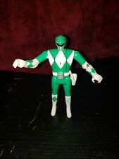 "1993 Power Rangers Flip Head 5"" Green Ranger Action Figure Bandai"