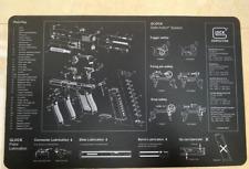 "Glock Armorer Bench Mat Cleaning Mat Armorers Bench Mat Gaming Mouse pad 11""x17"""