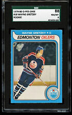 1979-80 O-Pee-Chee OPC Hockey Wayne Gretzky ROOKIE RC #18 SGC 88 PSA BGS SMR 4K!