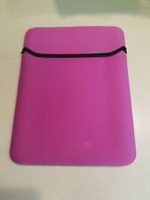 Pink Soft Padded Laptop For Macbook Air Protective Sleeve (NWD)