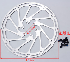 Centerline 180mm Disc Brake Rotor with 6 Bolt for MTB Mountain Road Bike Cycling