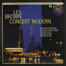 LES BROWN: Concert Modern LP (stereo toc, foxing spots) Jazz