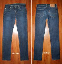 """JEANS LEVIS 511 """"Slim-fit"""" W29 L34 (FR t39)  bleu délavé"""