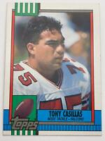 American Football Card💎1990💎Topps - Atlanta Falcons - Tony Casillas🌟470🌟